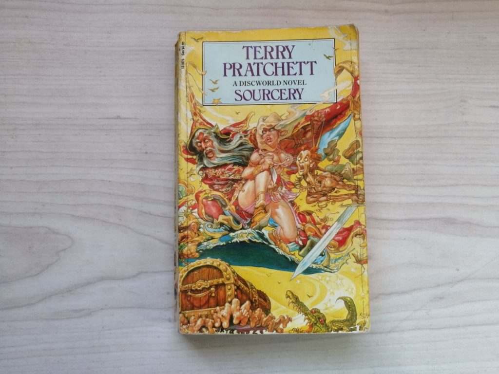 terry pratchett sourcery